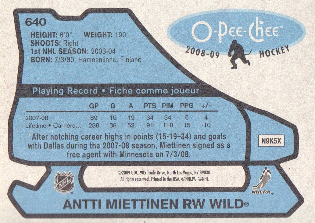 2008-09-O-Pee-Chee-OPC-1979-80-Retro-Parallel-Hockey-Cards-Pick-From-List miniature 201
