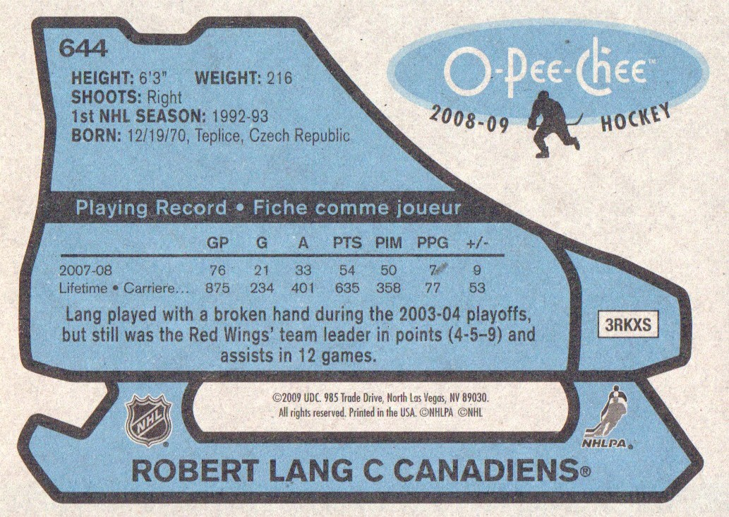 2008-09-O-Pee-Chee-OPC-1979-80-Retro-Parallel-Hockey-Cards-Pick-From-List miniature 203