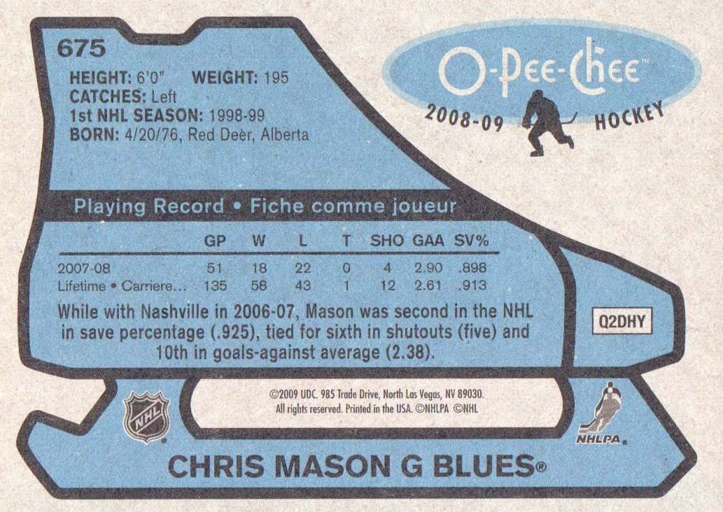 2008-09-O-Pee-Chee-OPC-1979-80-Retro-Parallel-Hockey-Cards-Pick-From-List miniature 225