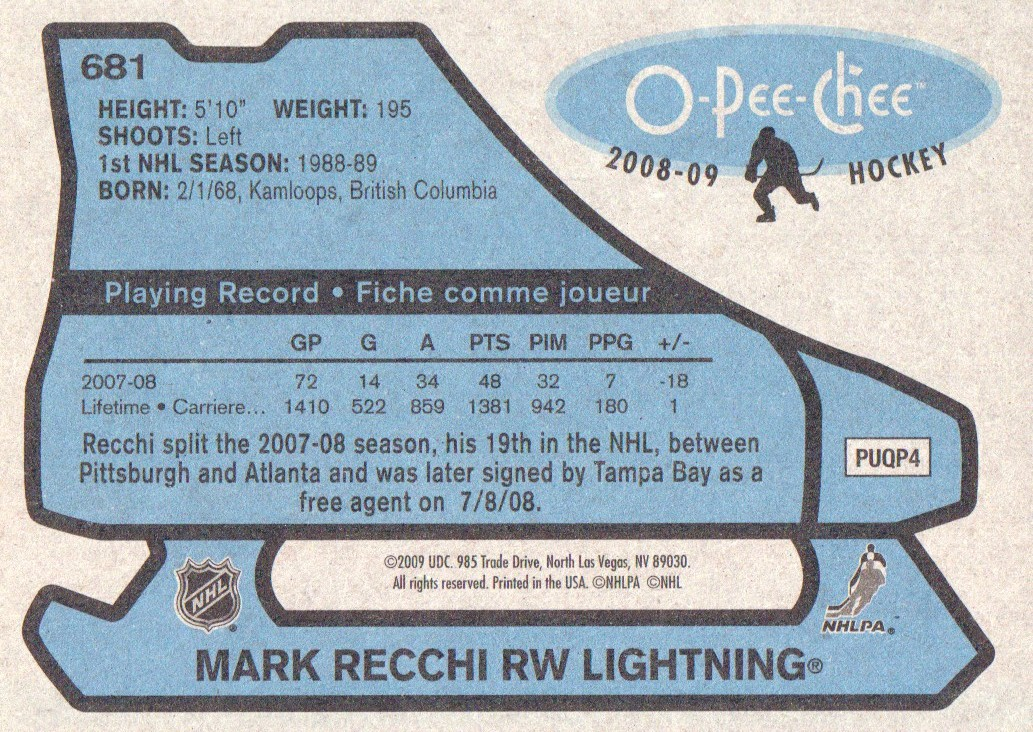 2008-09-O-Pee-Chee-OPC-1979-80-Retro-Parallel-Hockey-Cards-Pick-From-List miniature 233