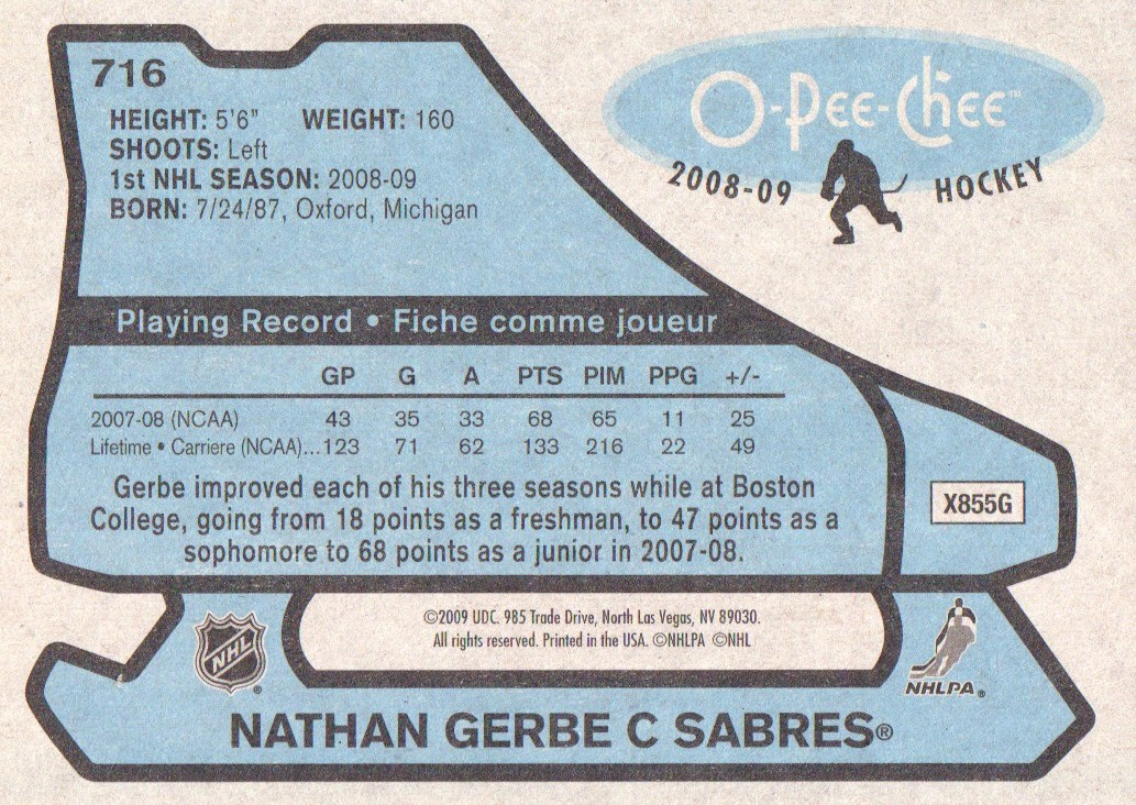 2008-09-O-Pee-Chee-OPC-1979-80-Retro-Parallel-Hockey-Cards-Pick-From-List miniature 253