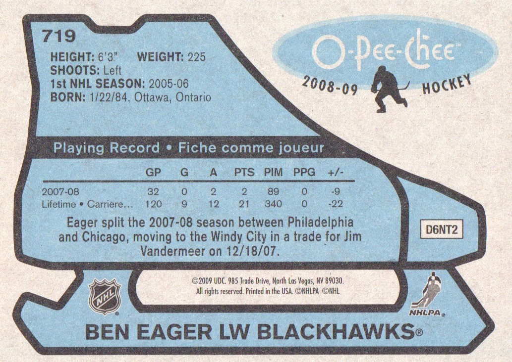 2008-09-O-Pee-Chee-OPC-1979-80-Retro-Parallel-Hockey-Cards-Pick-From-List miniature 255