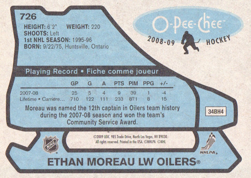 2008-09-O-Pee-Chee-OPC-1979-80-Retro-Parallel-Hockey-Cards-Pick-From-List miniature 263