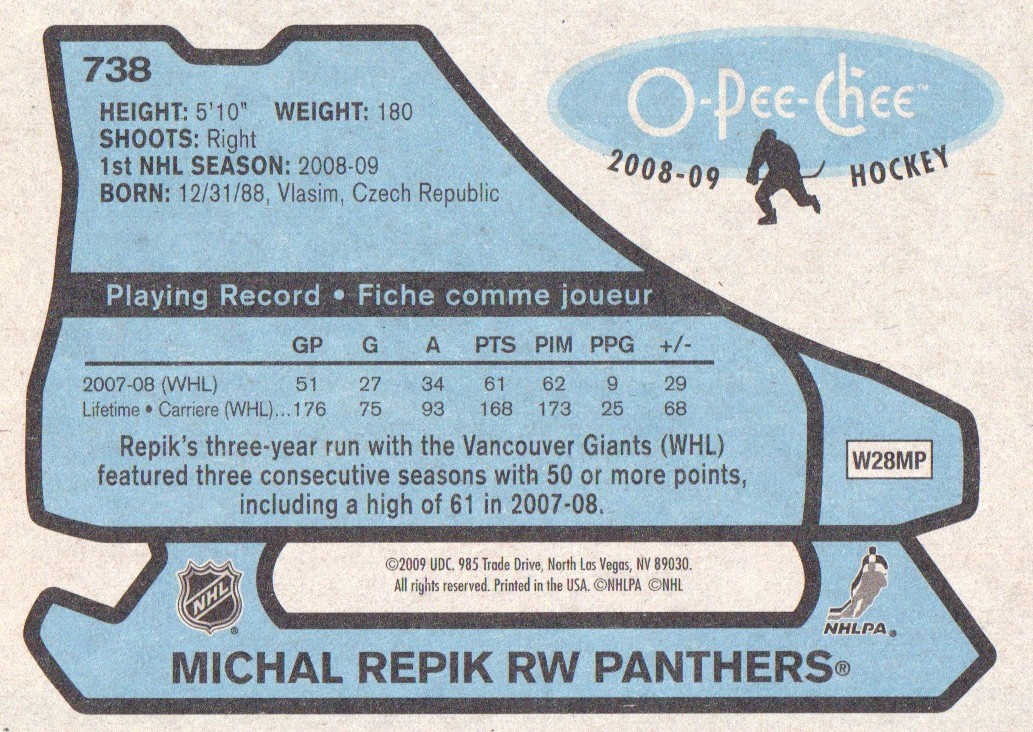 2008-09-O-Pee-Chee-OPC-1979-80-Retro-Parallel-Hockey-Cards-Pick-From-List miniature 269