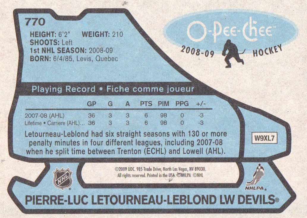 2008-09-O-Pee-Chee-OPC-1979-80-Retro-Parallel-Hockey-Cards-Pick-From-List miniature 295