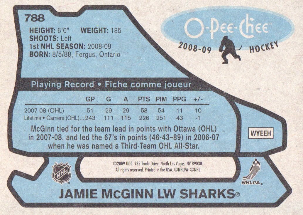 2008-09-O-Pee-Chee-OPC-1979-80-Retro-Parallel-Hockey-Cards-Pick-From-List miniature 307