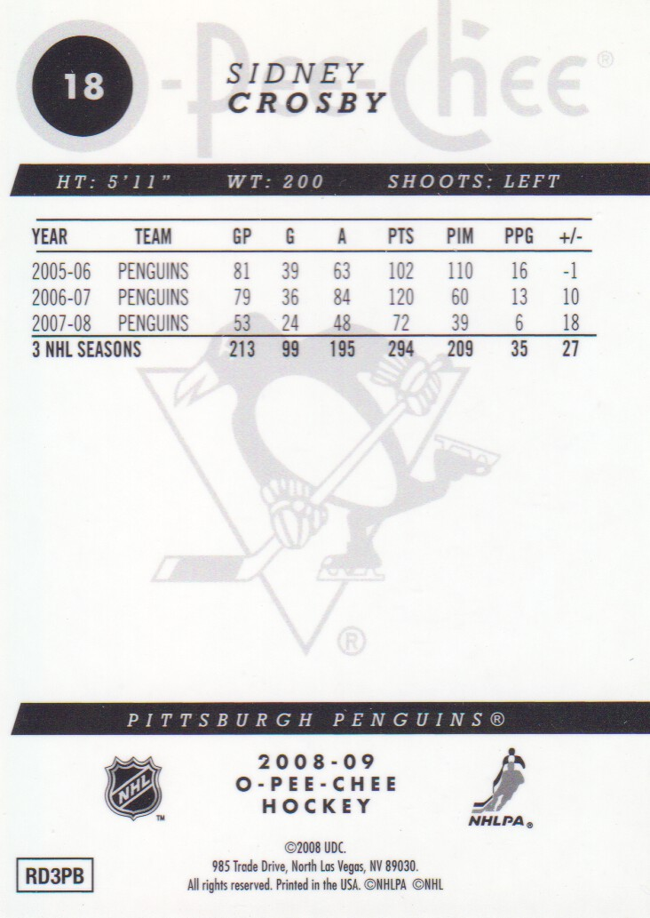 2008-09-O-Pee-Chee-OPC-Metal-Parallel-Hockey-Cards-Pick-From-List thumbnail 9