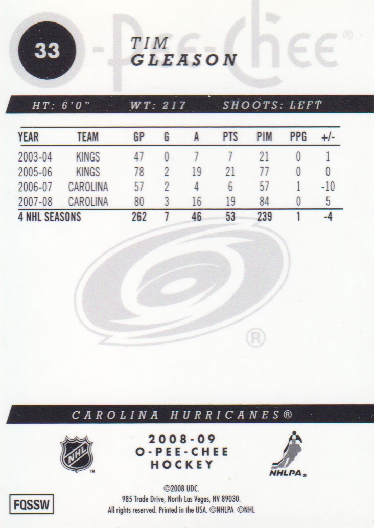 2008-09-O-Pee-Chee-OPC-Metal-Parallel-Hockey-Cards-Pick-From-List thumbnail 19