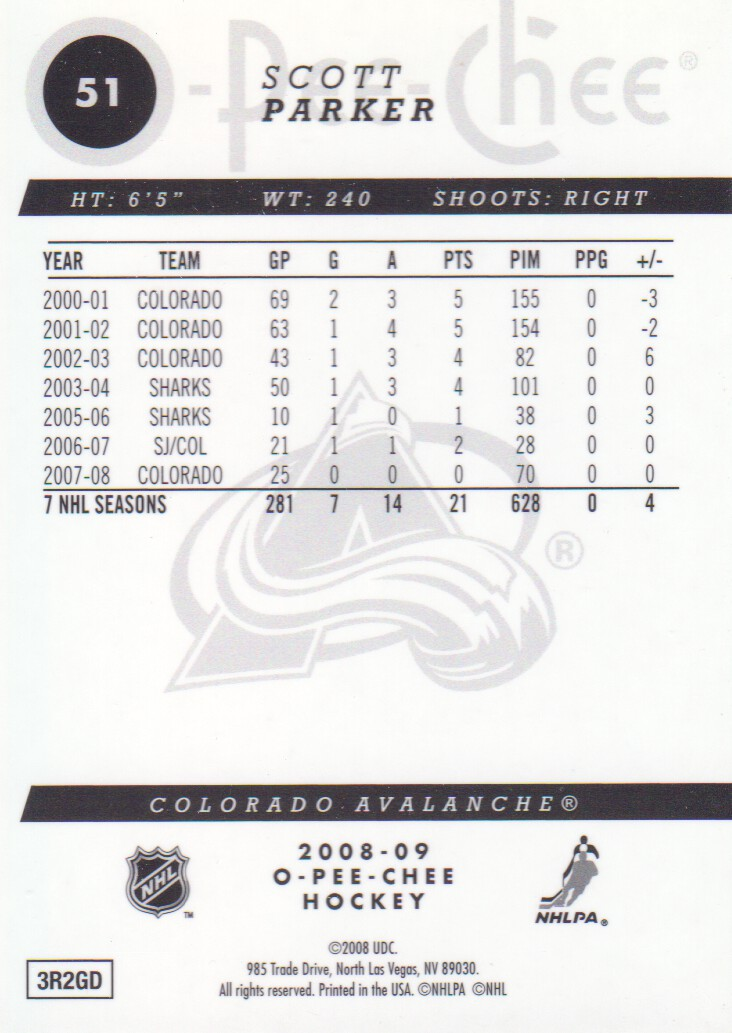 2008-09-O-Pee-Chee-OPC-Metal-Parallel-Hockey-Cards-Pick-From-List thumbnail 29