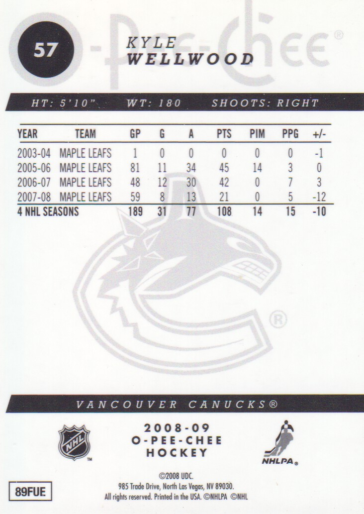 2008-09-O-Pee-Chee-OPC-Metal-Parallel-Hockey-Cards-Pick-From-List thumbnail 33