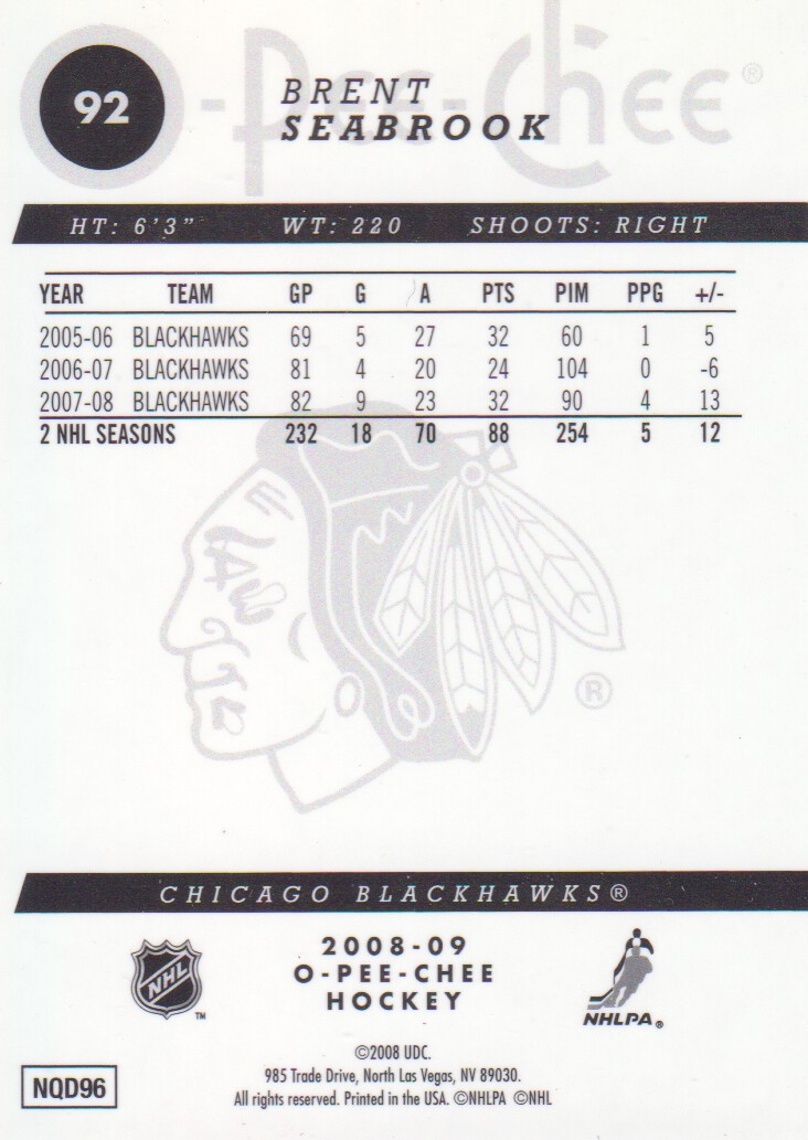 2008-09-O-Pee-Chee-OPC-Metal-Parallel-Hockey-Cards-Pick-From-List thumbnail 41