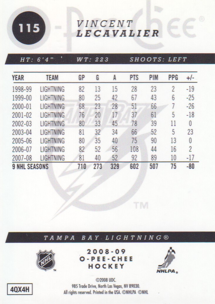2008-09-O-Pee-Chee-OPC-Metal-Parallel-Hockey-Cards-Pick-From-List thumbnail 45