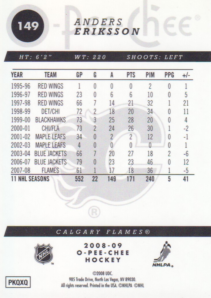 2008-09-O-Pee-Chee-OPC-Metal-Parallel-Hockey-Cards-Pick-From-List thumbnail 55