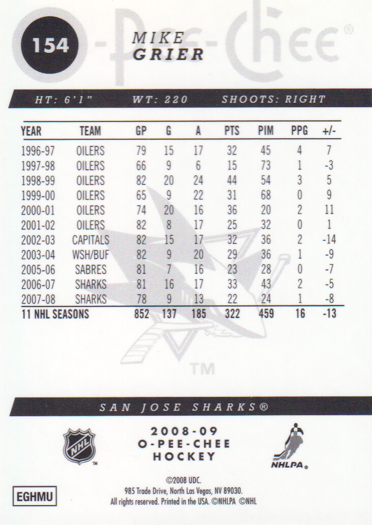 2008-09-O-Pee-Chee-OPC-Metal-Parallel-Hockey-Cards-Pick-From-List thumbnail 59