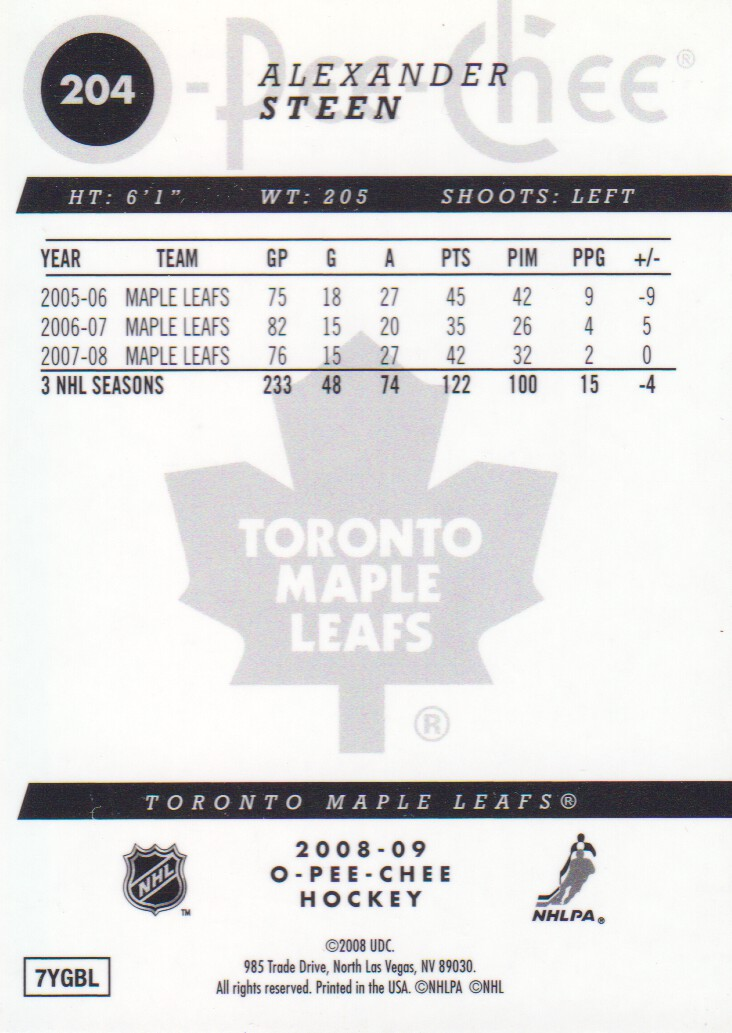 2008-09-O-Pee-Chee-OPC-Metal-Parallel-Hockey-Cards-Pick-From-List thumbnail 77
