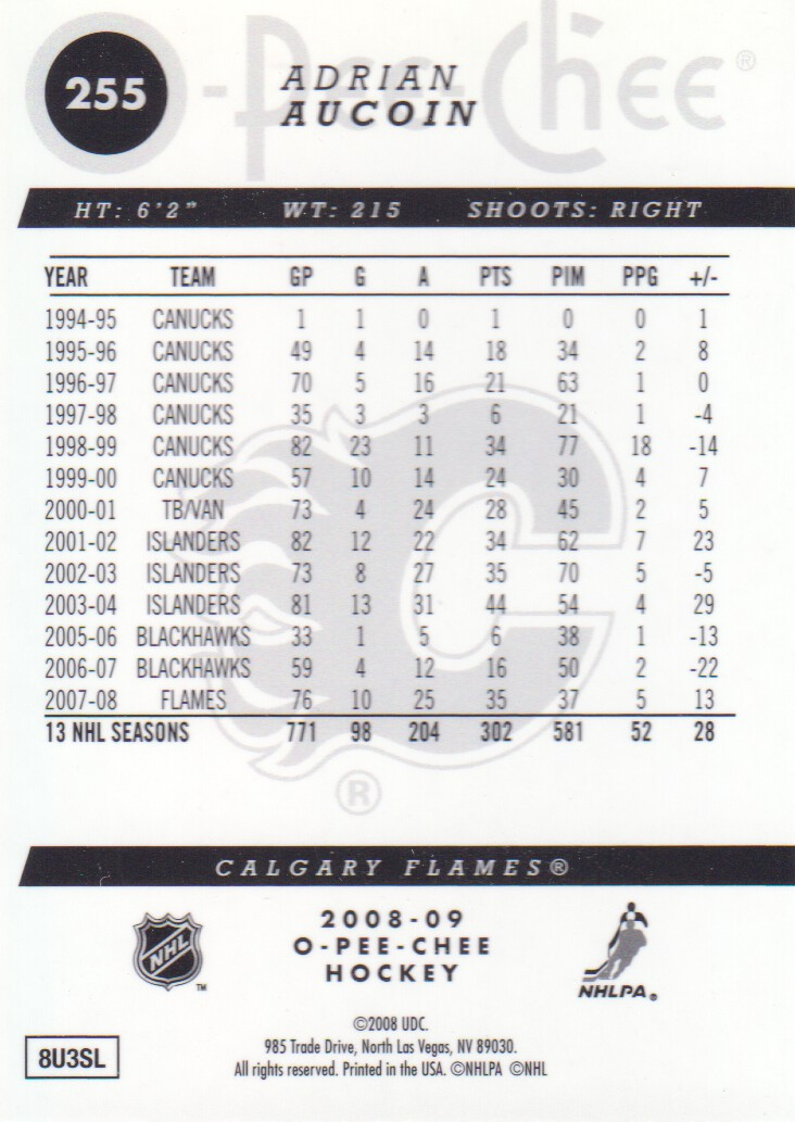 2008-09-O-Pee-Chee-OPC-Metal-Parallel-Hockey-Cards-Pick-From-List thumbnail 93