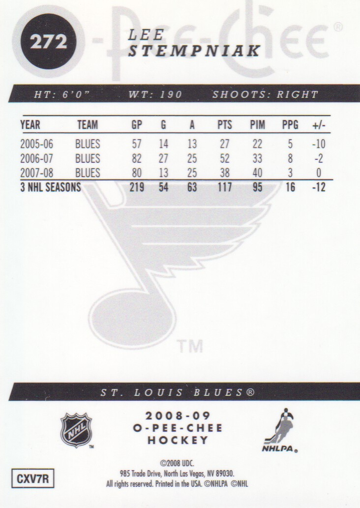 2008-09-O-Pee-Chee-OPC-Metal-Parallel-Hockey-Cards-Pick-From-List thumbnail 95