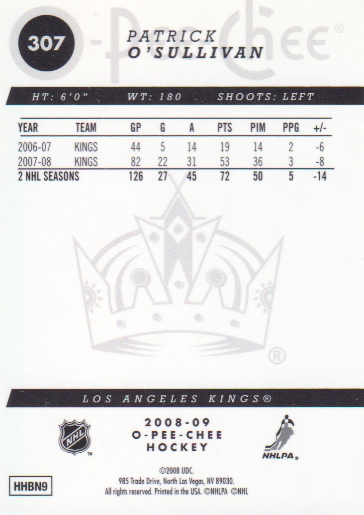 2008-09-O-Pee-Chee-OPC-Metal-Parallel-Hockey-Cards-Pick-From-List thumbnail 109