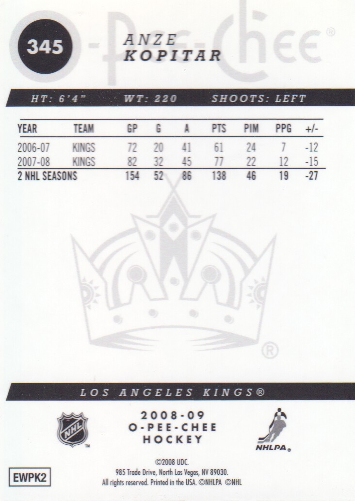 2008-09-O-Pee-Chee-OPC-Metal-Parallel-Hockey-Cards-Pick-From-List thumbnail 121