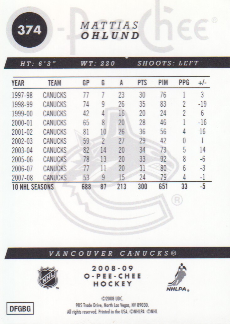 2008-09-O-Pee-Chee-OPC-Metal-Parallel-Hockey-Cards-Pick-From-List thumbnail 129