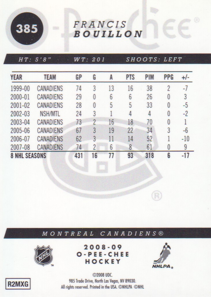 2008-09-O-Pee-Chee-OPC-Metal-Parallel-Hockey-Cards-Pick-From-List thumbnail 135