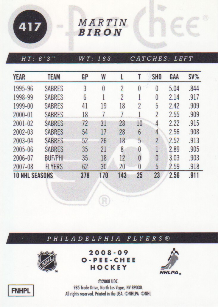 2008-09-O-Pee-Chee-OPC-Metal-Parallel-Hockey-Cards-Pick-From-List thumbnail 145