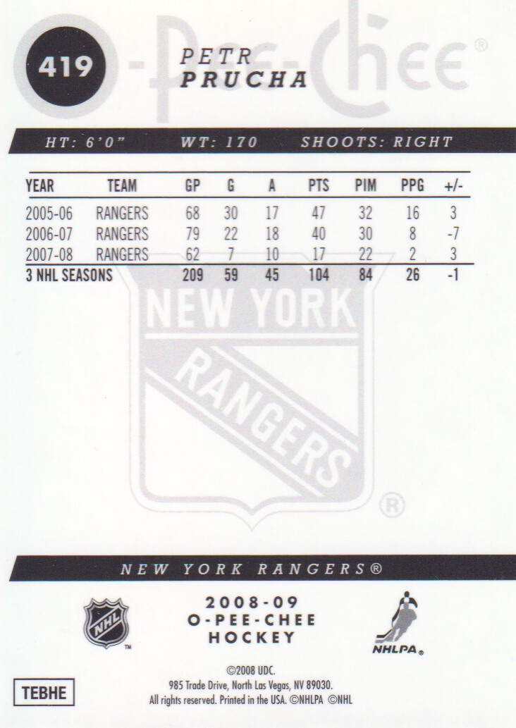 2008-09-O-Pee-Chee-OPC-Metal-Parallel-Hockey-Cards-Pick-From-List thumbnail 147