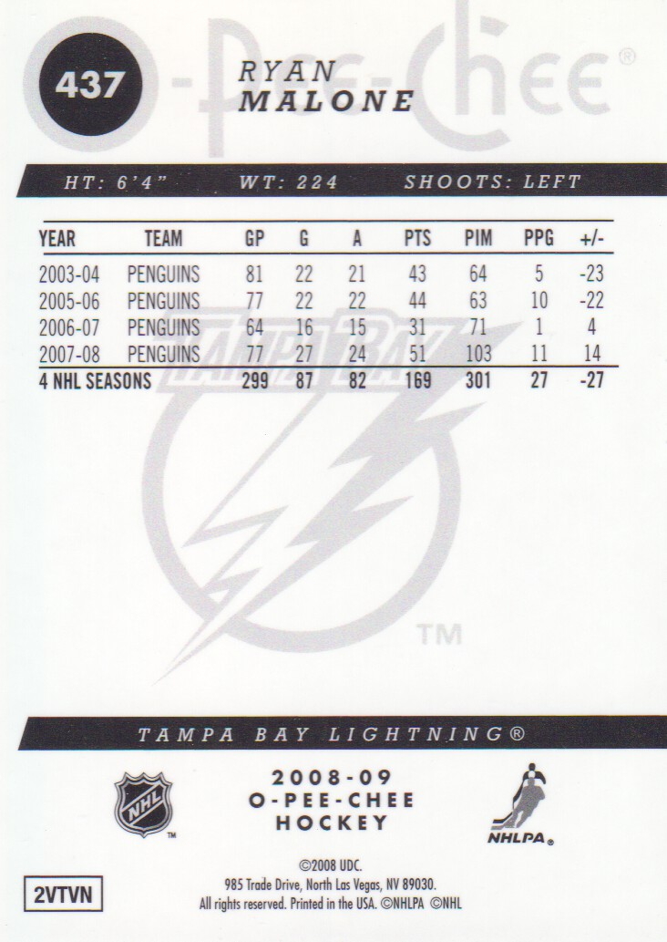 2008-09-O-Pee-Chee-OPC-Metal-Parallel-Hockey-Cards-Pick-From-List thumbnail 151