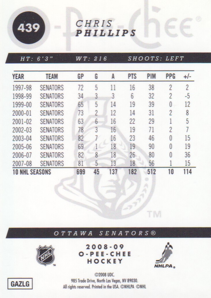 2008-09-O-Pee-Chee-OPC-Metal-Parallel-Hockey-Cards-Pick-From-List thumbnail 153
