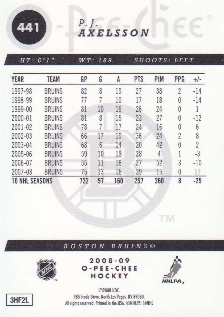 2008-09-O-Pee-Chee-OPC-Metal-Parallel-Hockey-Cards-Pick-From-List thumbnail 155