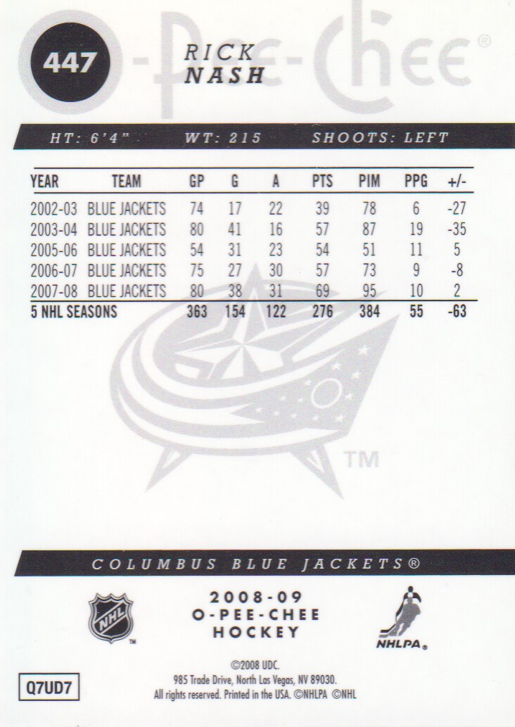 2008-09-O-Pee-Chee-OPC-Metal-Parallel-Hockey-Cards-Pick-From-List thumbnail 157