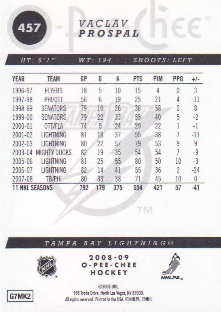 2008-09-O-Pee-Chee-OPC-Metal-Parallel-Hockey-Cards-Pick-From-List thumbnail 161