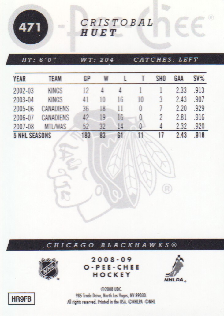 2008-09-O-Pee-Chee-OPC-Metal-Parallel-Hockey-Cards-Pick-From-List thumbnail 169