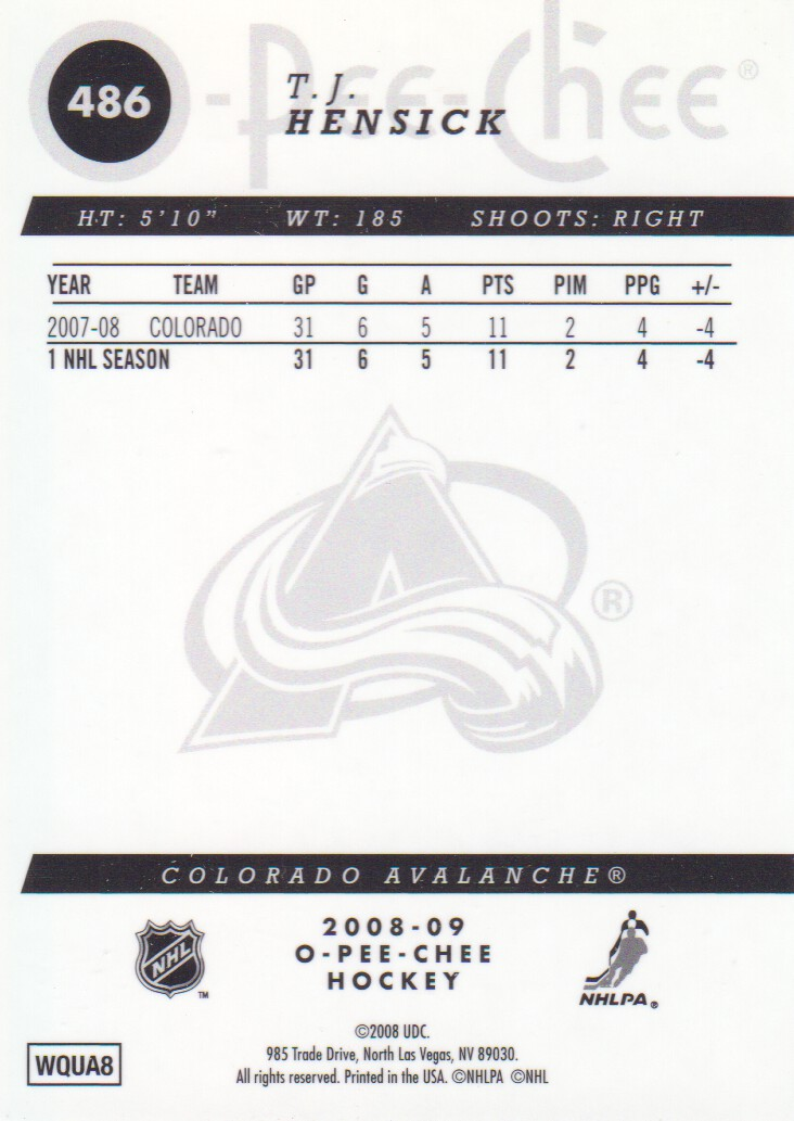 2008-09-O-Pee-Chee-OPC-Metal-Parallel-Hockey-Cards-Pick-From-List thumbnail 171
