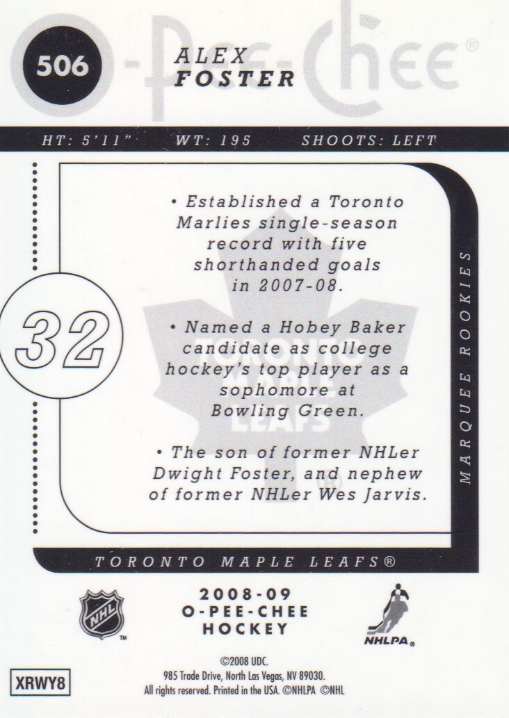 2008-09-O-Pee-Chee-OPC-Metal-Parallel-Hockey-Cards-Pick-From-List thumbnail 173