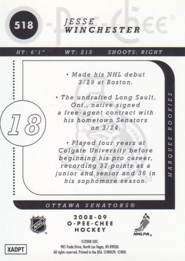 2008-09-O-Pee-Chee-OPC-Metal-Parallel-Hockey-Cards-Pick-From-List thumbnail 177