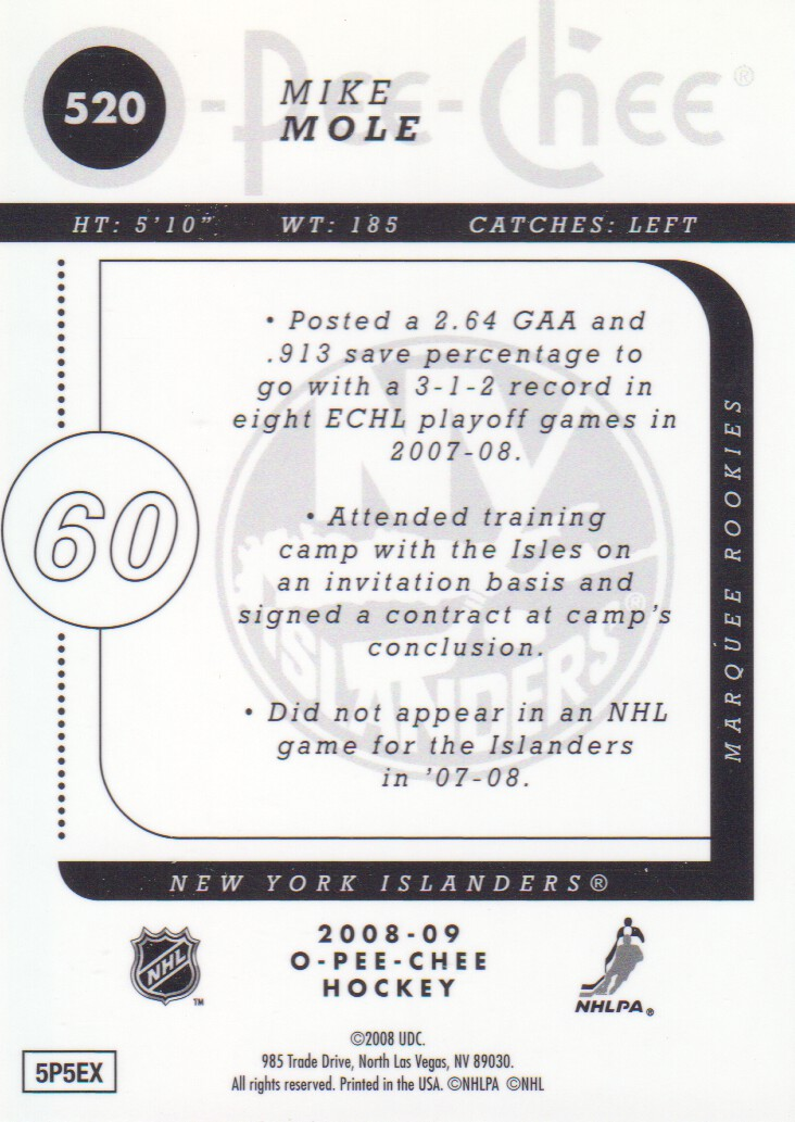 2008-09-O-Pee-Chee-OPC-Metal-Parallel-Hockey-Cards-Pick-From-List thumbnail 179