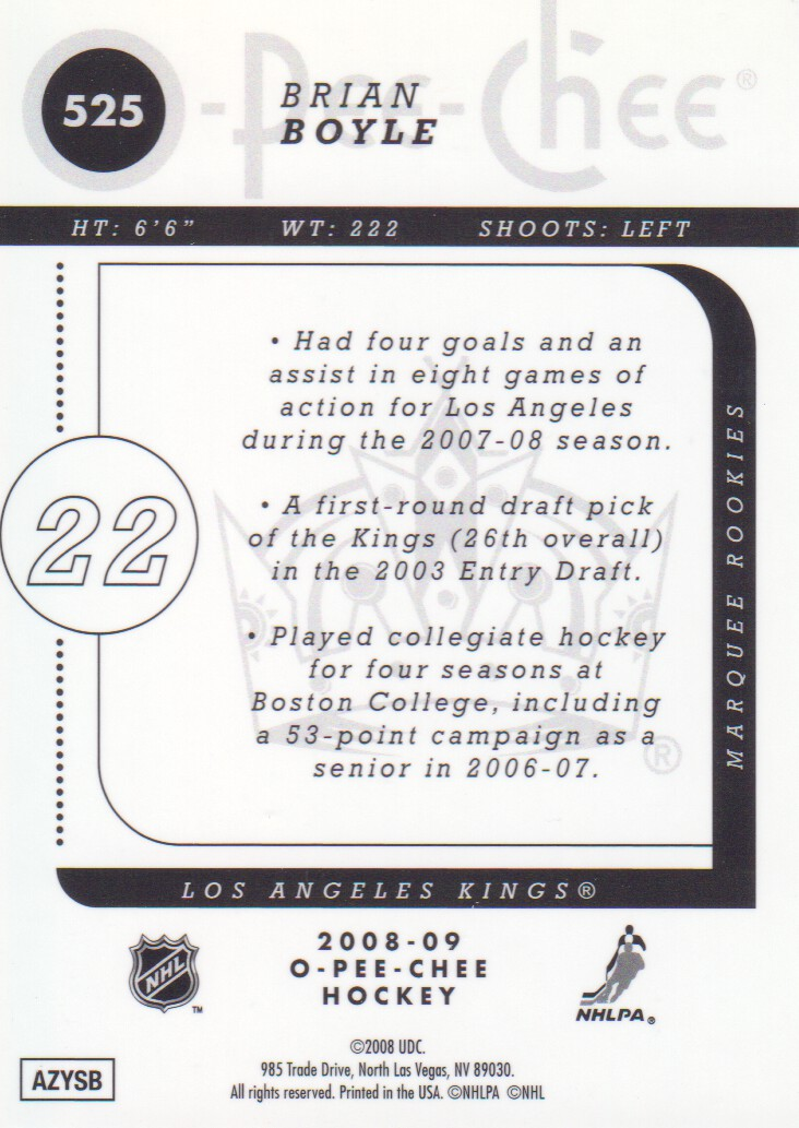 2008-09-O-Pee-Chee-OPC-Metal-Parallel-Hockey-Cards-Pick-From-List thumbnail 183