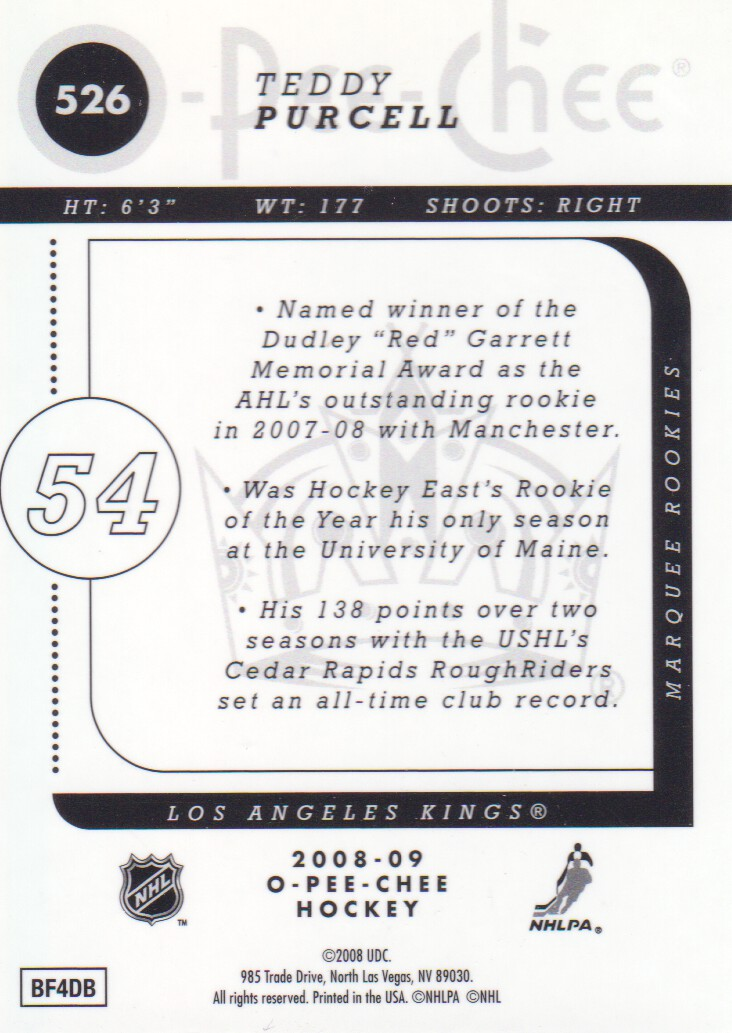 2008-09-O-Pee-Chee-OPC-Metal-Parallel-Hockey-Cards-Pick-From-List thumbnail 185