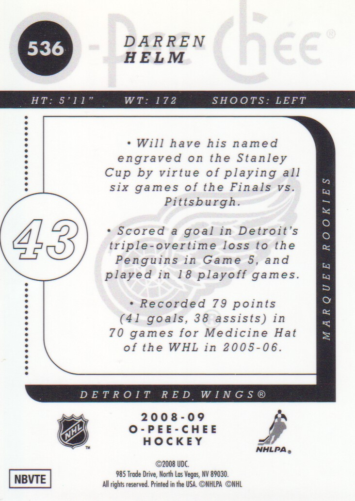2008-09-O-Pee-Chee-OPC-Metal-Parallel-Hockey-Cards-Pick-From-List thumbnail 189
