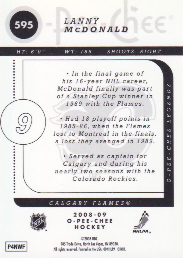 2008-09-O-Pee-Chee-OPC-Metal-Parallel-Hockey-Cards-Pick-From-List thumbnail 201