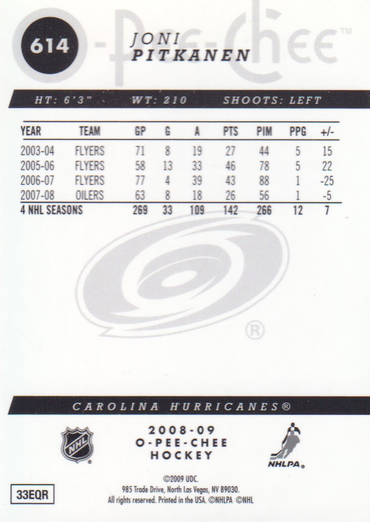 2008-09-O-Pee-Chee-OPC-Metal-Parallel-Hockey-Cards-Pick-From-List thumbnail 207