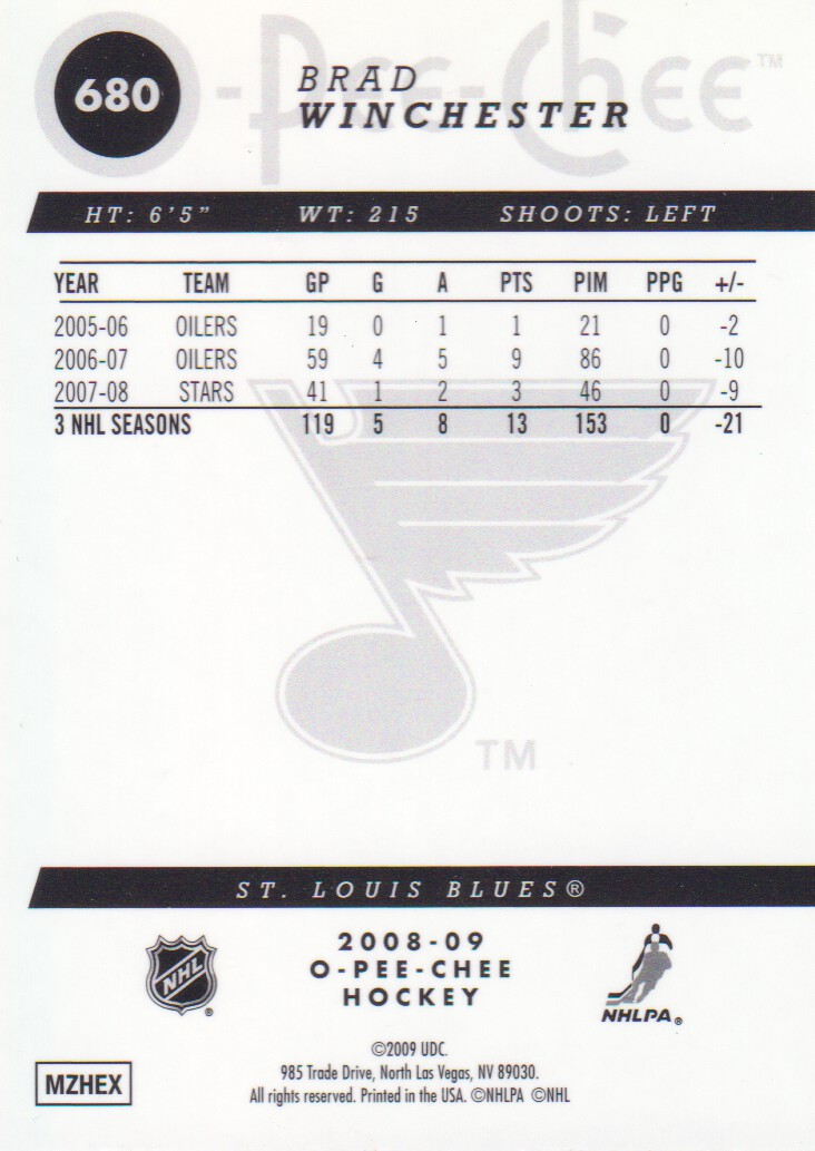 2008-09-O-Pee-Chee-OPC-Metal-Parallel-Hockey-Cards-Pick-From-List thumbnail 223