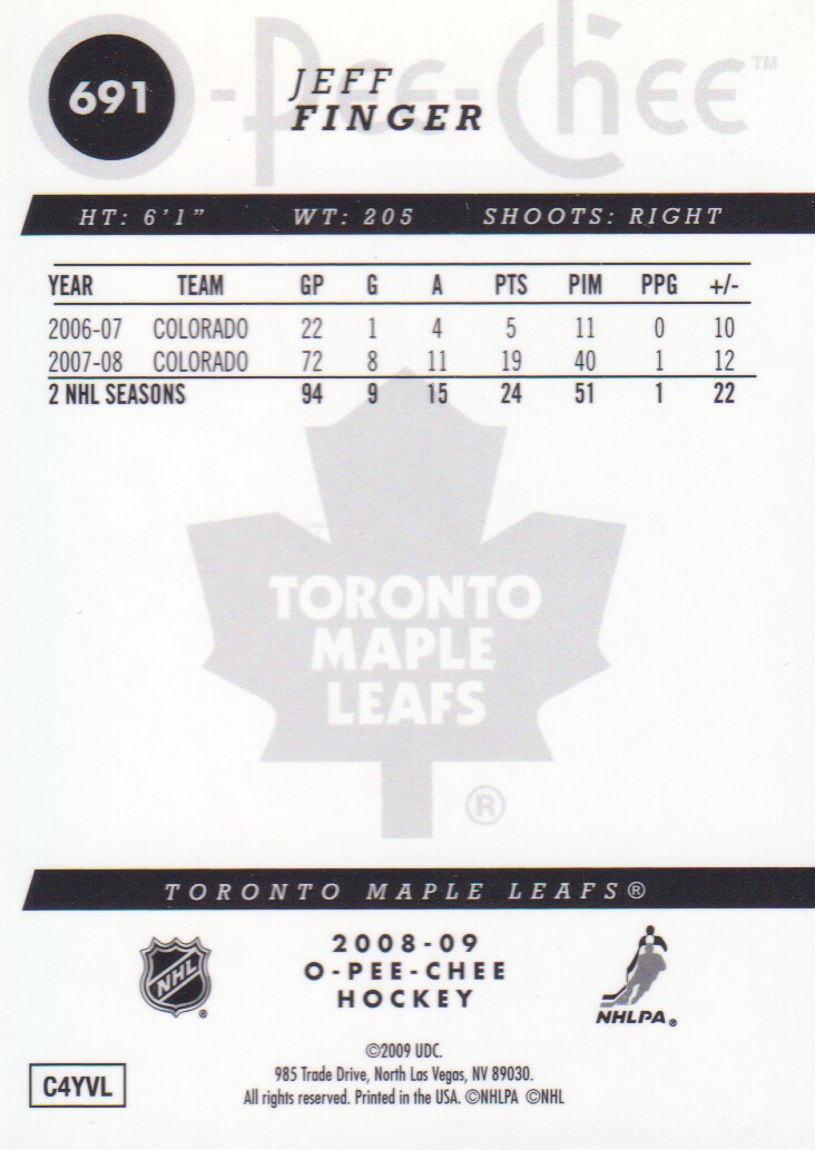 2008-09-O-Pee-Chee-OPC-Metal-Parallel-Hockey-Cards-Pick-From-List thumbnail 227