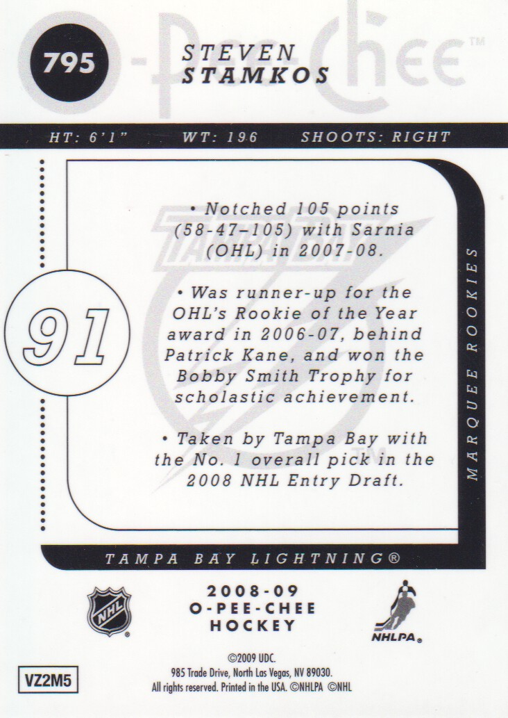 2008-09-O-Pee-Chee-OPC-Metal-Parallel-Hockey-Cards-Pick-From-List thumbnail 255