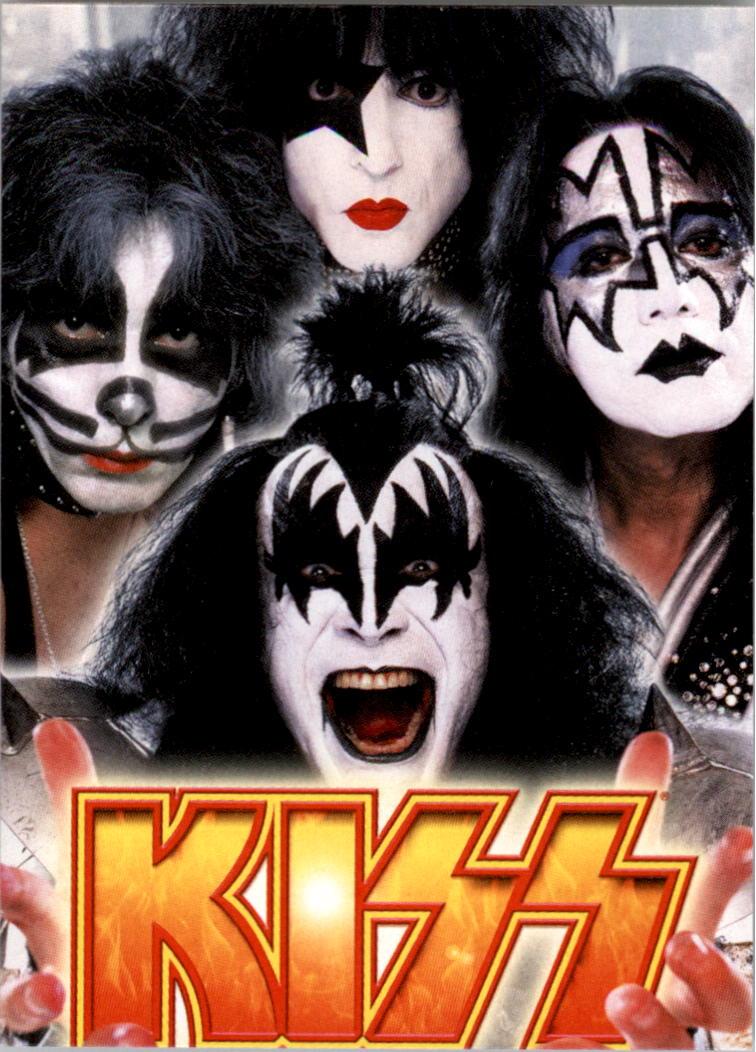 2009 KISS Ikons Stickers #1 Head Shots