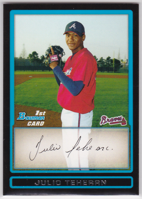 2009 Bowman Prospects #BP4 Julio Teheran