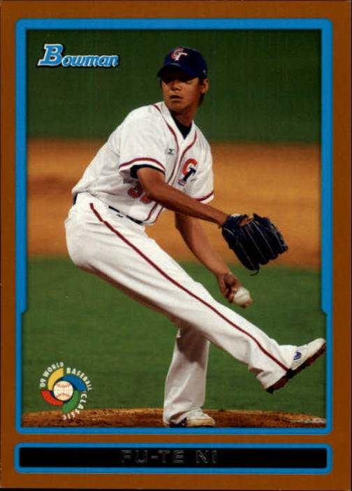 2009 Bowman WBC Prospects Orange #BW20 Fu-Te Ni