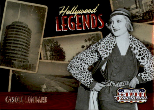 2009 Americana Hollywood Legends #24 Carole Lombard