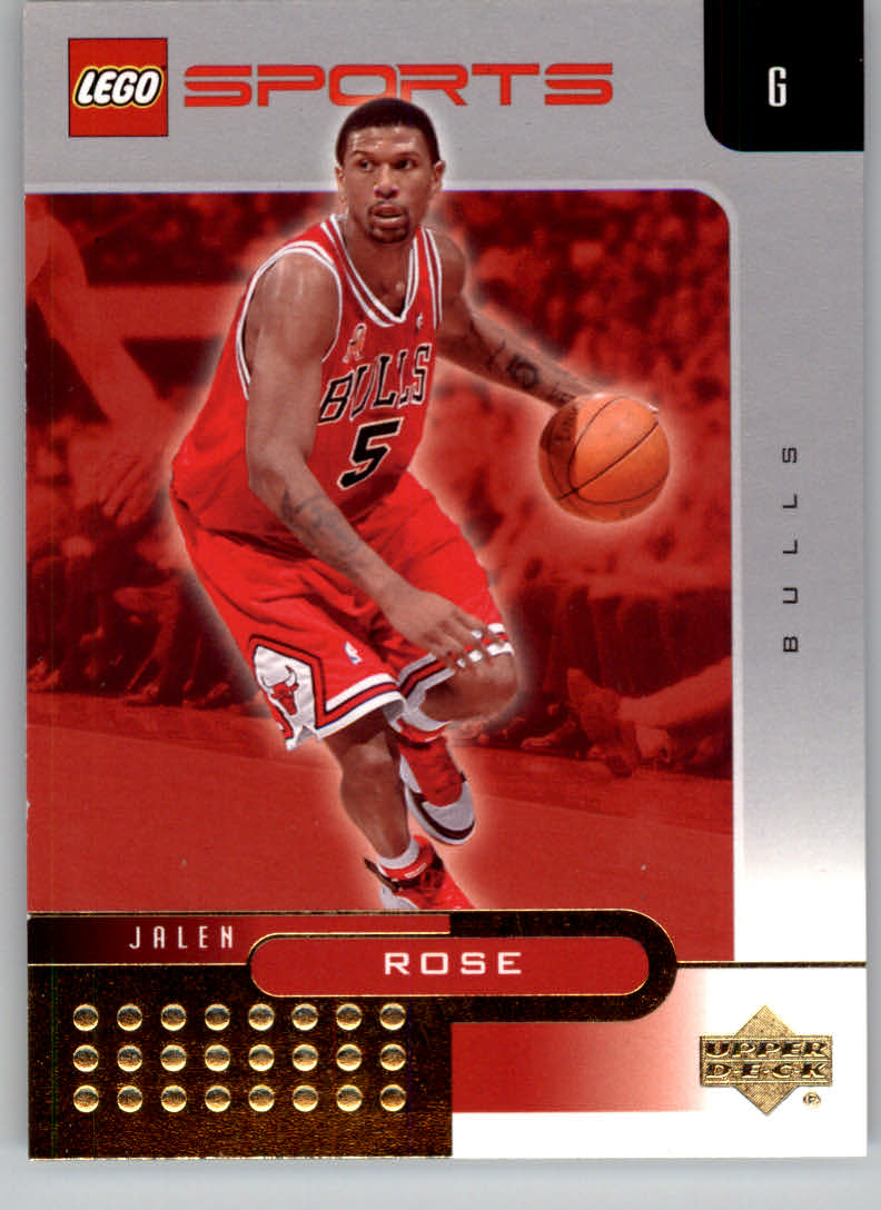 61de9424ab3 2003 Upper Deck Lego Sports Gold  21 Jalen Rose